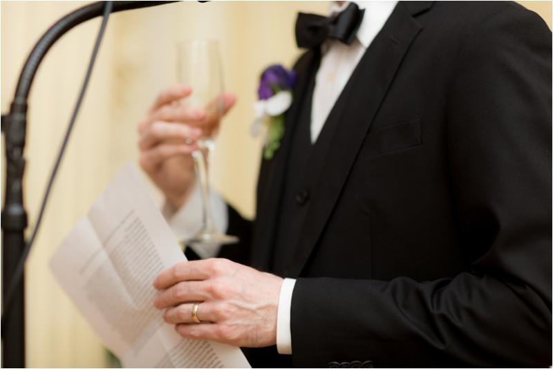 Wedding reception at the BU Castle in Boston.