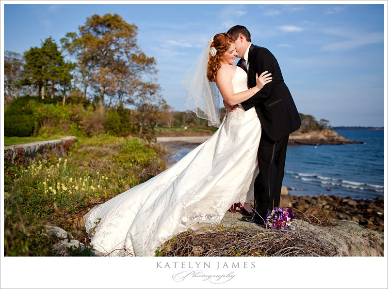 Bride and Groom at Misselwood by Katelyn James.