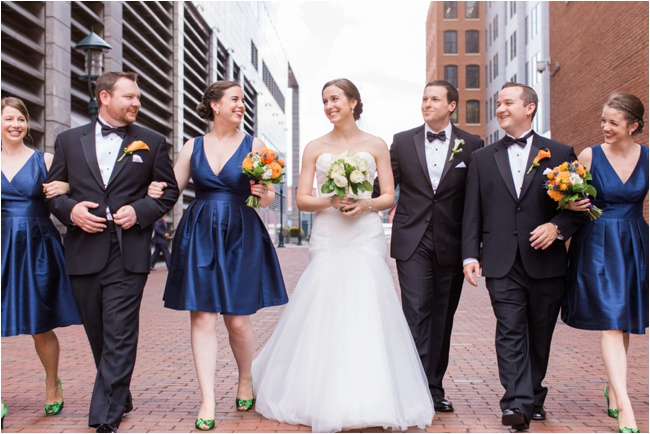 A wedding at the New England Aquarium by Deborah Zoe Photography.