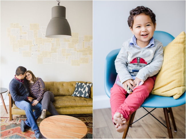 A Downtown Boston Family Session by Deborah Zoe Photography.