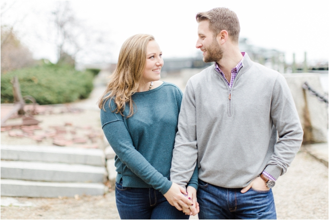 A Boston Waterfront Engagement Session by Deborah Zoe Photography.