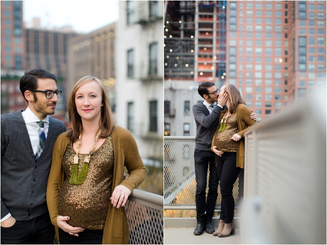 A Brooklyn and NYC Maternity Session