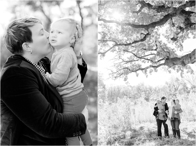A family session in the heart of Brooklyn by Deborah Zoe Photography.