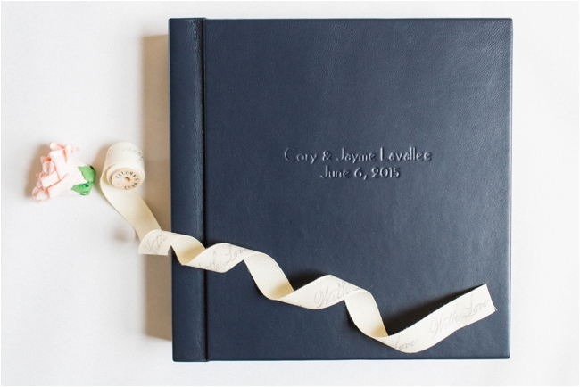Signature Wedding Album by Deborah Zoe Photography.