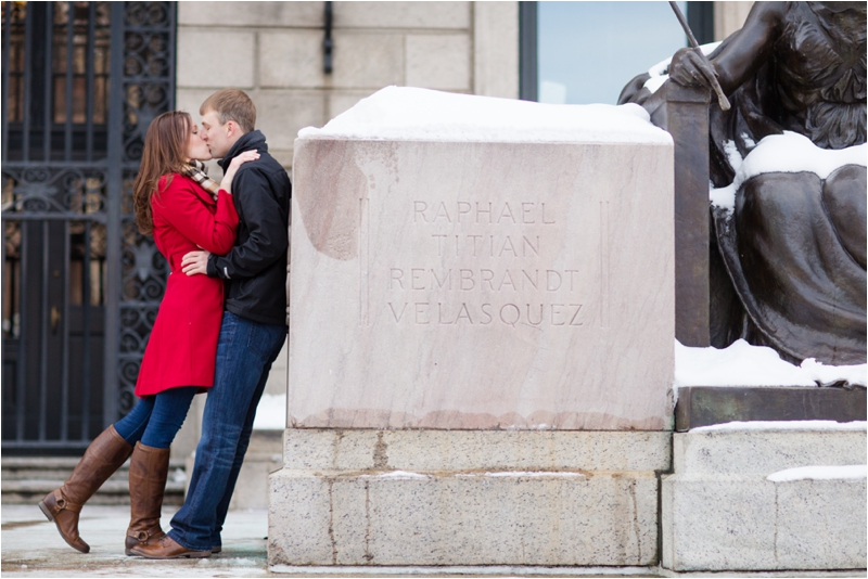 Boston Public Library engagement session