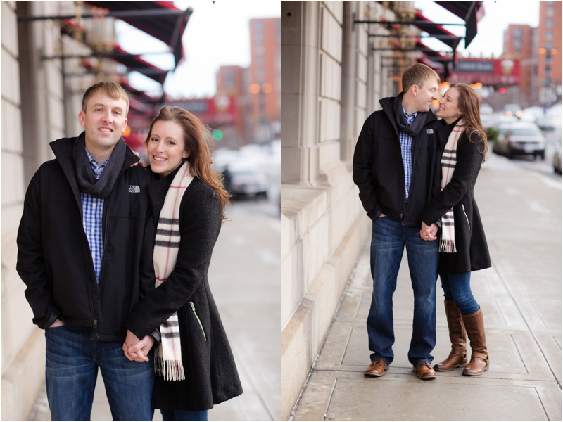 Fairmont Copley Square Engagement Session