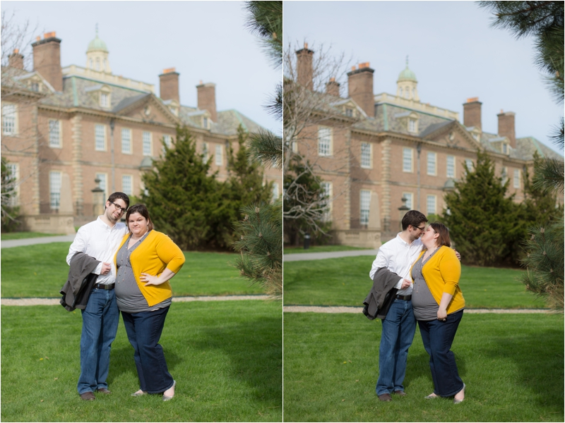 Anniversary portraits at the Crane Estate in Ipswich by Deborah Zoe Photography.