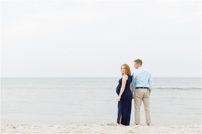 A Crane Beach Maternity Session by Deborah Zoe Photography.