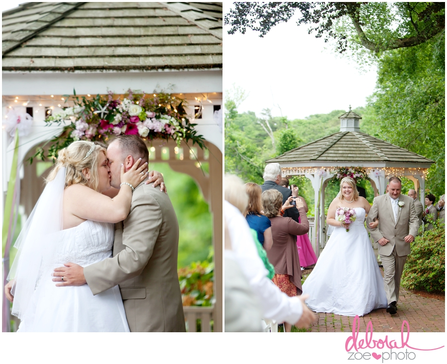 Cape Cod Wedding Massachusetts Wedding Photographer Summer Wedding Outdoor Ceremony Pink Wedding Details Ocean Themed Wedding Coonamessett Inn Wedding Deborah Zoe Photo020