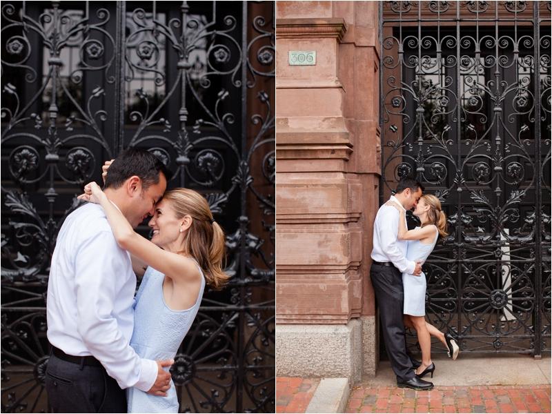 deborah zoe photography boston wedding photographer back bay engagement session boston pedi cab lansdowne pub0028.JPG