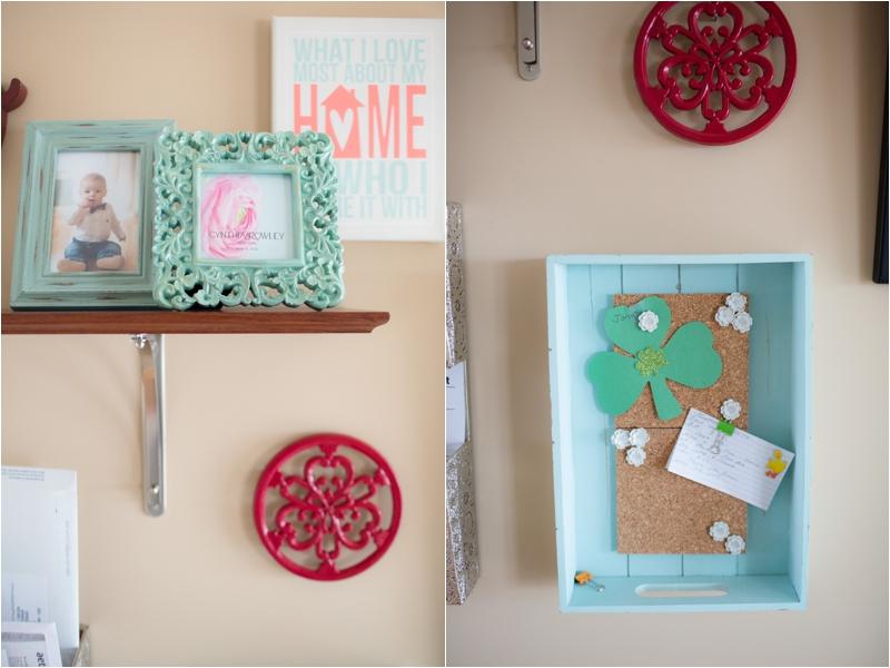 DIY home command center Deborah Zoe Photography