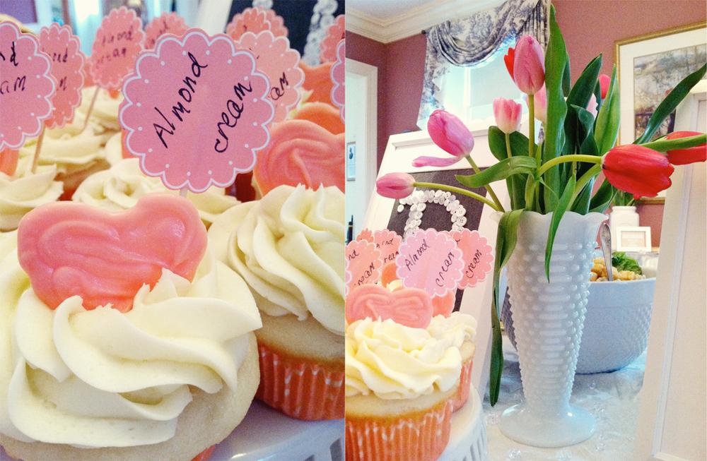 DIY shower new england wedding photographer deborah zoe photo pink gray wedding shower6