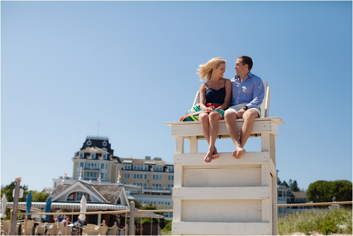Ocean House Engagement Session