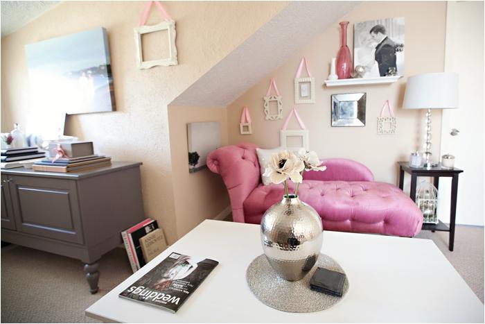 deborah zoe photography home office pink office new england wedding photography DIY home office0006