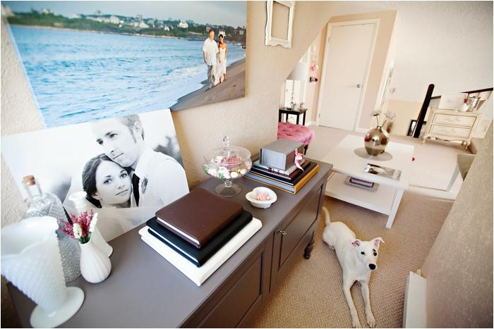 deborah zoe photography home office pink office new england wedding photography DIY home office0009