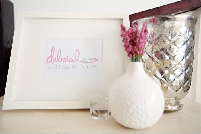 deborah zoe photography home office pink office new england wedding photography DIY home office0012