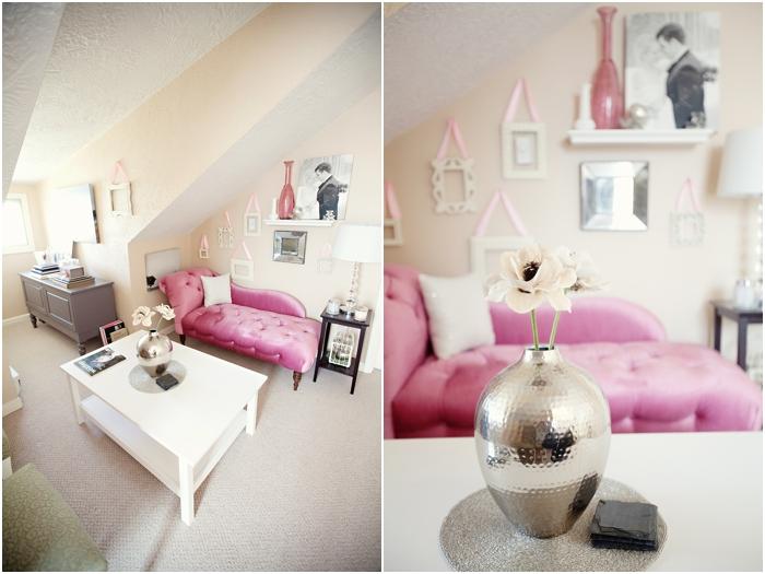 deborah zoe photography home office pink office new england wedding photography DIY home office0014