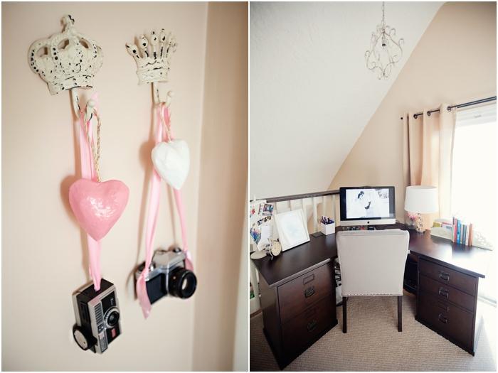 deborah zoe photography home office pink office new england wedding photography DIY home office0021