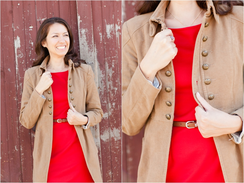fall inspired wardrobe for engagement session