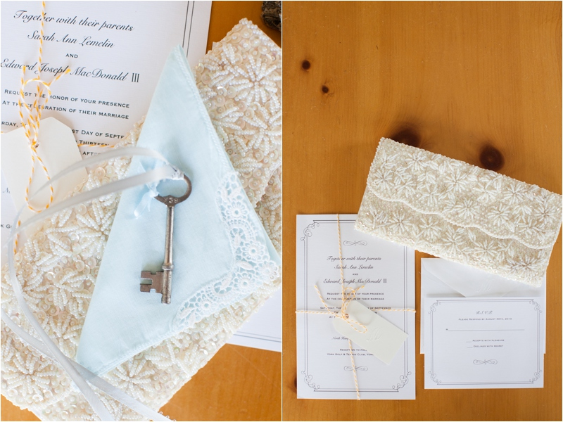 coastal maine wedding with DIY details