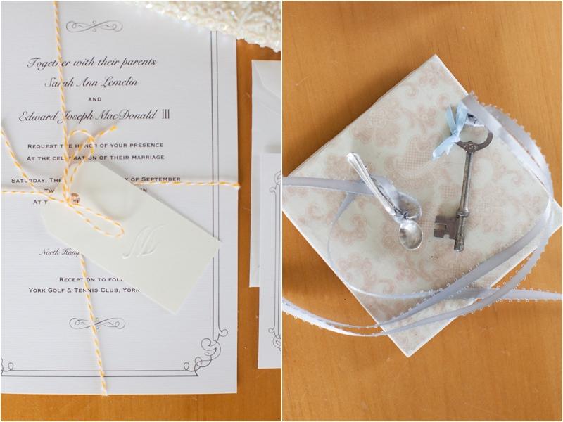 nautical keepsakes for coastal wedding