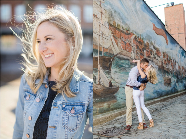 Newburyport engagement session by Deborah Zoe Photography.