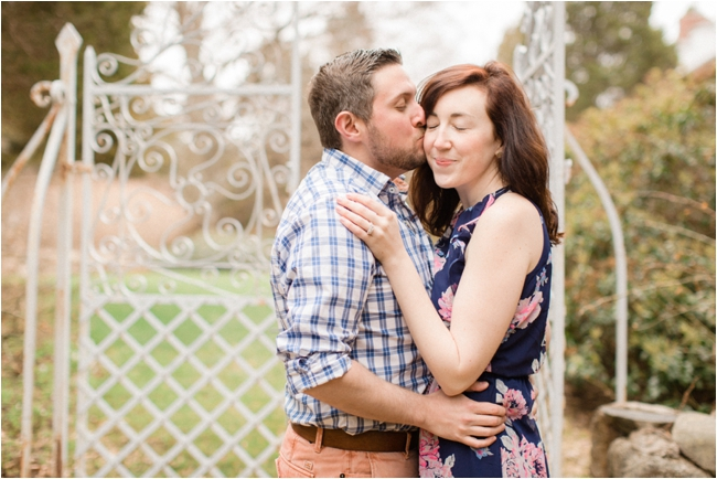 Long Hill Estate engagement session photographed by Deborah Zoe Photography.