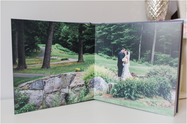 The Signature Wedding Album by Deborah Zoe Photography.