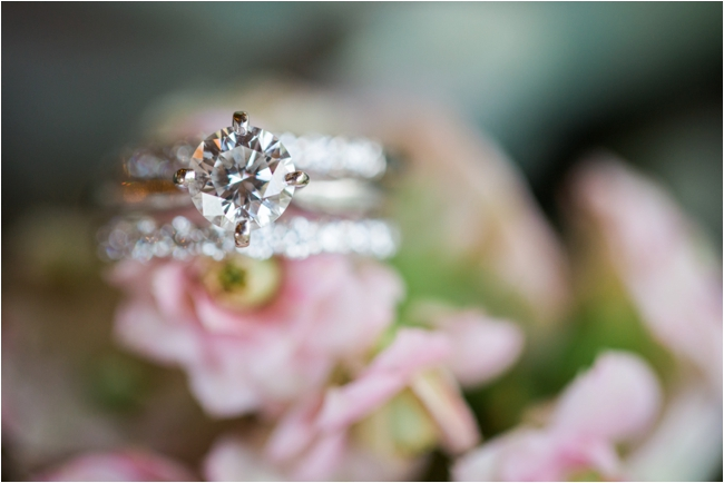 Solitaire diamond ring photographed by Deborah Zoe Photography.