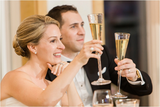 Couple toast to their guests on their wedding day on the Cape photographed by Deborah Zoe Photograph