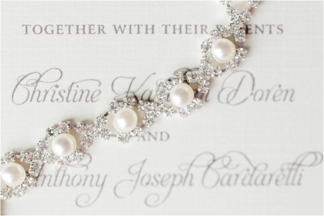 Pearls and diamonds photographed by Deborah Zoe Photography.