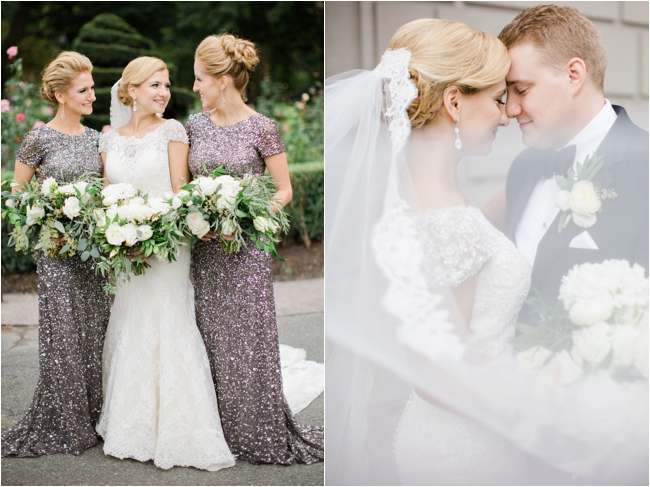 Fairmont Copley Plaza wedding photographed by Deborah Zoe Photography.