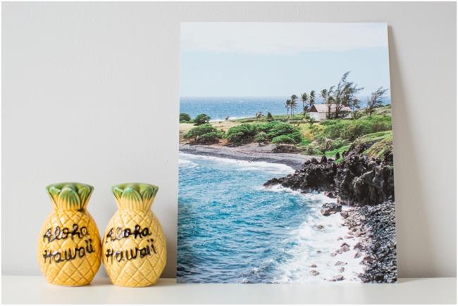 Fine Art Print of Maui's coast line by Deborah Zoe Photography.