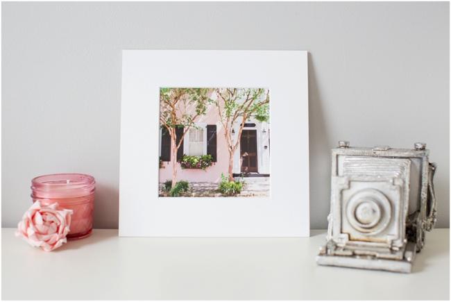 Fine Art Print of Charleston, South Carolina by Deborah Zoe Photography.