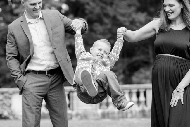 A Family Session at The Gardens at Elm Bank by Deborah Zoe Photography.
