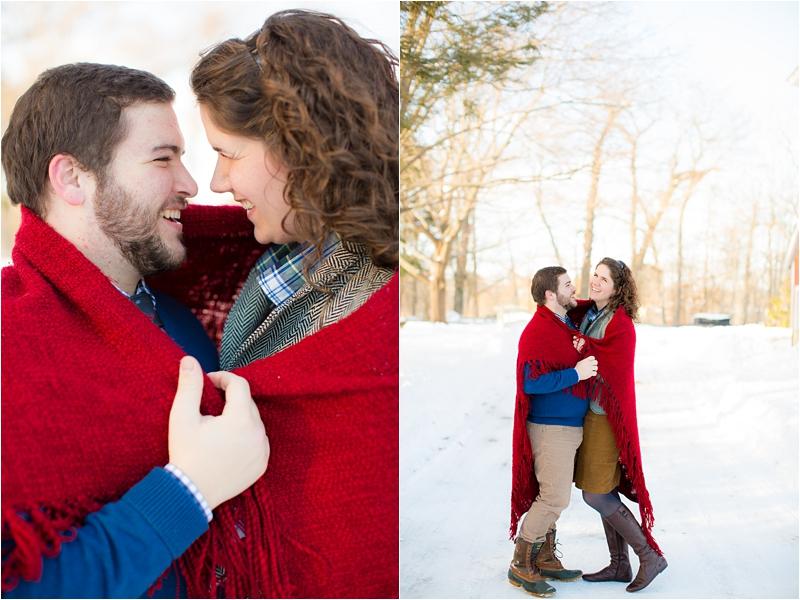 JCrew inspired winter engagement session deborah zoe photography