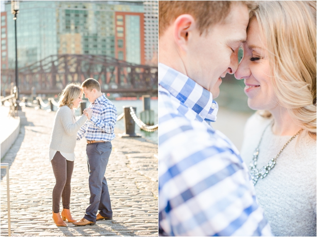 A Fort Point Engagement Session by Deborah Zoe Photography.