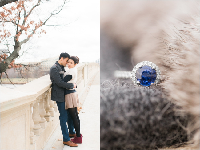 A Harvard Yard engagement session by Deborah Zoe Photography.