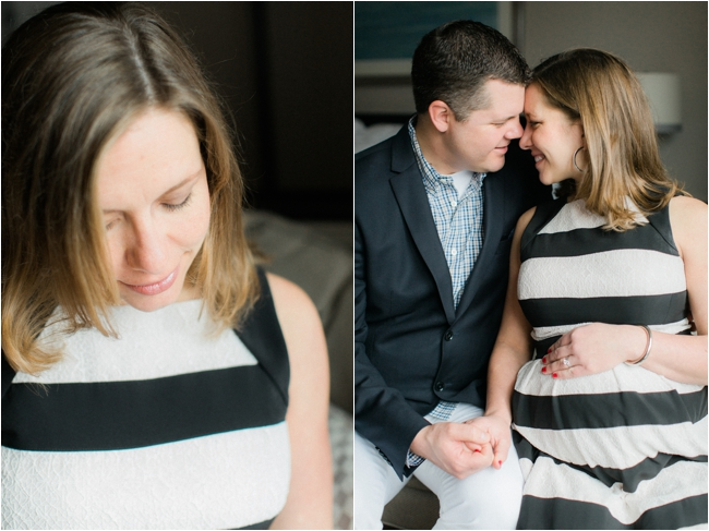 Downtown Boston Maternity Session by Deborah Zoe Photography.