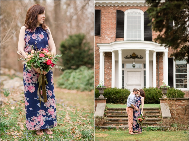 A Long Hill Estate Engagement Session by Deborah Zoe Photography.