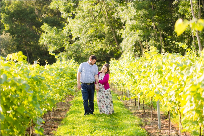 Mill River Winery Vineyard Inspired Anniversary Session