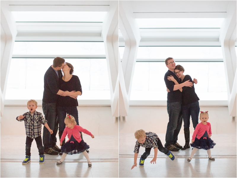 Family Portraits at the Milwaukee Art Museum