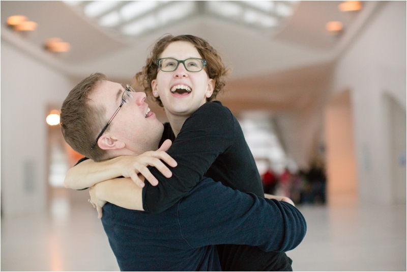 married couple at the Milwaukee Art Museum