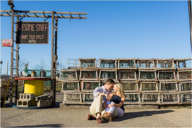 A Newburyport and Plum Island engagement session by Deborah Zoe Photography.