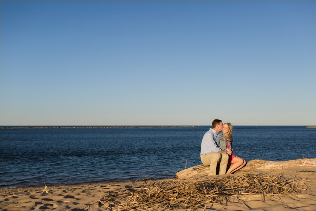 A Newburyport and Plum Island engagement session by Deborah Zoe Photography.