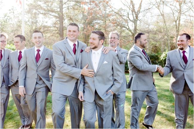 Bridal party at Pinehills Golf Club photographed by Deborah Zoe Photography.