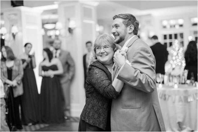Groom & Mother dance at Pinehills Golf Club photographed by Deborah Zoe Photography.