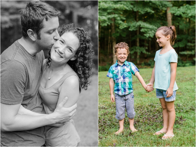 Summer in New Hampshire family session photographed by Deborah Zoe Photography.