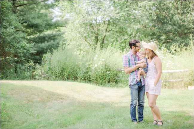 Berkshire family session photographed by Deborah Zoe Photography.