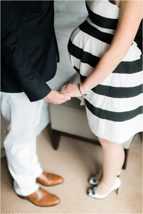 Liberty Hotel maternity session photographed by Deborah Zoe Photography.